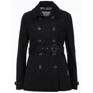 Superdry Women's Belle Trench Coat - Black