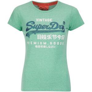 Superdry Women's Duo T-Shirt - Snowy Hot Mint
