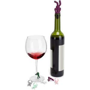 Umbra Drinking Buddy Charms and Topper Set