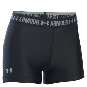 Under Armour Women's HeatGear Armour 5 Inch Shorts - Black