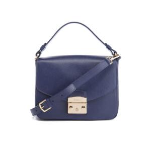 Furla Women's Metropolis Small Shoulder Bag - Navy