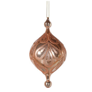 Bark & Blossom Onion Bauble - Gold