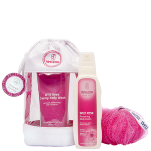 Weleda Wild Rose Wash Bag Gift 2016 (Worth £22.5)