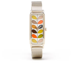 Orla Kiely Women's Stem Bracelet Watch - Gold