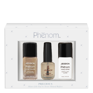 Jessica Nails Phenom Precious Metals Gift Set - Gold Vermeil