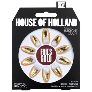 Elegant Touch House of Holland V Nails - Foils Gold