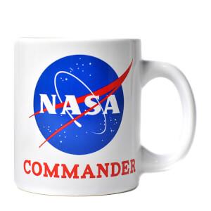 NASA Commander Boxed Mug