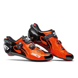 Sidi Wire Carbon Vernice Cycling Shoes - Orange/Black