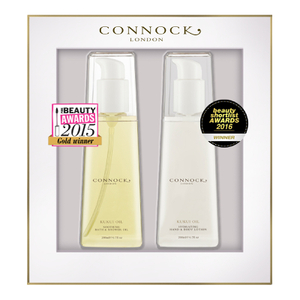 Connock London Kukui Oil Award Winners Gift Set (Worth £60)