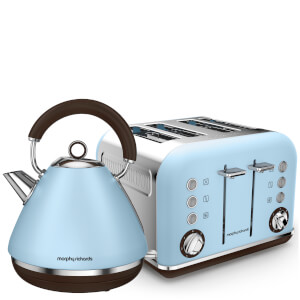 Morphy Richards Pyramid Premium Kettle and Toaster Bundle - Red