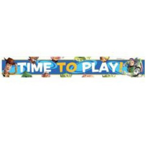 Toy Story 3 Plastic Banner 90cm 3 Per Pack