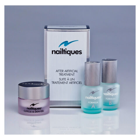Nailtiques After - Artificial Treatment