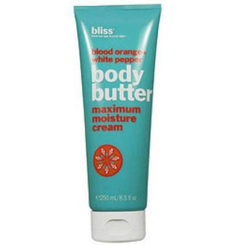 bliss Blood Orange & White Pepper Body Butter 200ml