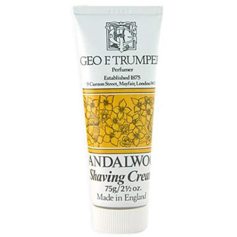 Trumpers Shave Cream - Sandalwood 75gm Tube