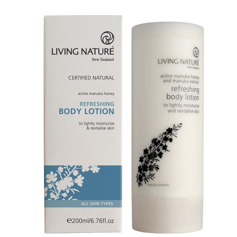 Living Nature erfrischende Body Lotion 200ml