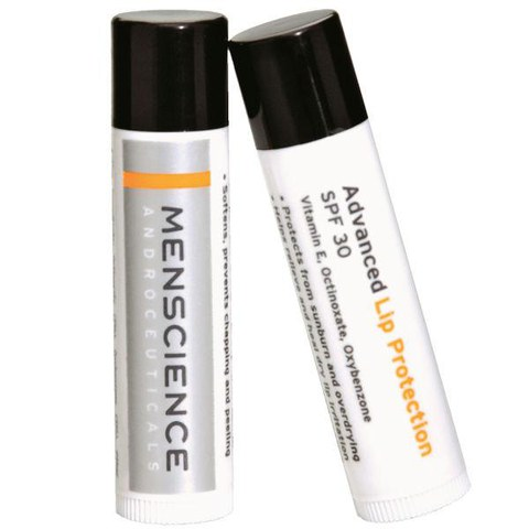 Bálsamo labial protector MenScience Advanced SPF30