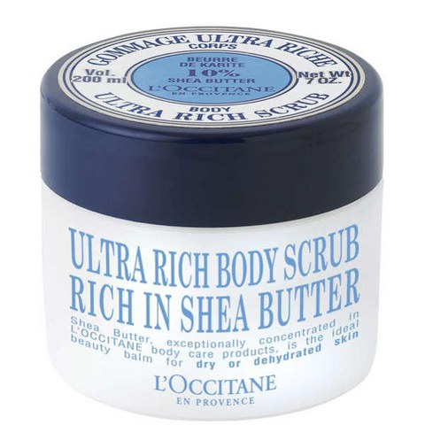 L'Occitane Shea Butter Ultra Rich Body Scrub (200ml)
