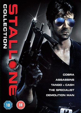 Sylvester Stallone Box Set (Cobra / Assassins / The Specialist / Tango and Cash / Demolition Man)