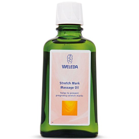 Huile pour le corps grossesse Weleda (100ML)