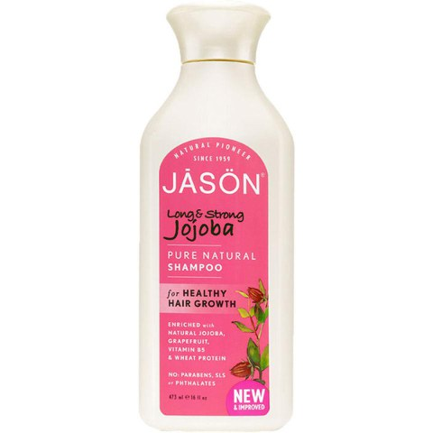 JASON Long & Strong Jojoba Shampoo 473ml
