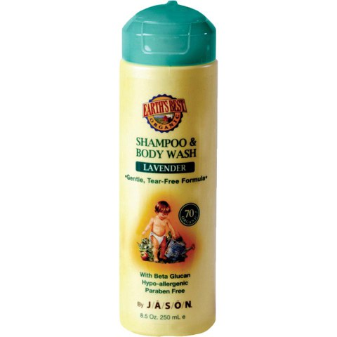 JASON Earth's Best Lavender Shampoo & Body Wash 251ml