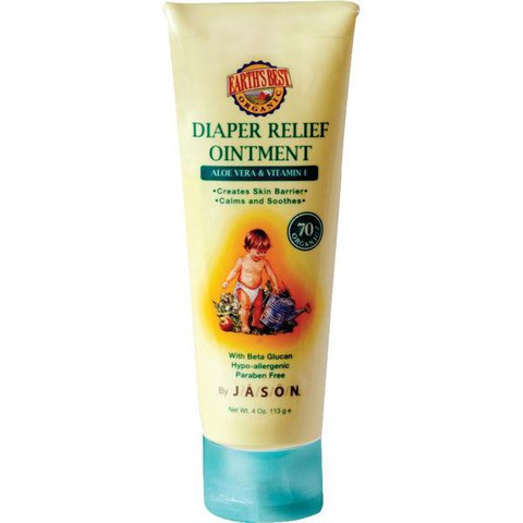Remède contre l'Érythème Fessier par Earth's Best Baby Care de JASON (113g)
