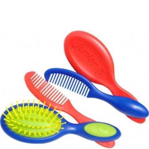 Set cepillo y peine para niños Denman junior D