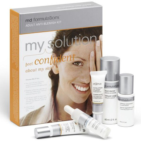 Md Formulations Adult Anti Blemish Kit (5 Products)