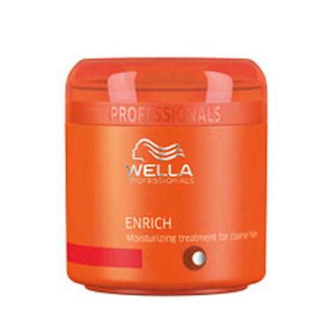 Mascarilla hidratante cabello grueso Wella Professionals Enrich (150ml)