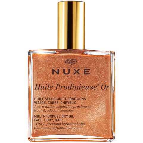 Huile sèche multi-usages effet lumière NUXE Huile Prodigieuse Or (50ml)