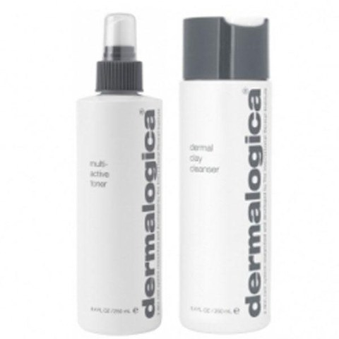 Dermalogica Cleanse & Tone Duo - Oily Skin (2 produkter)