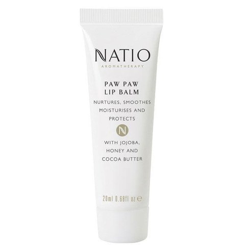 Natio Paw Paw Lip Balm (20ml)