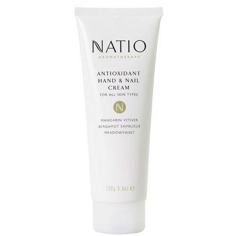 Crema de manos y uñas antioxidante Natio (100g)