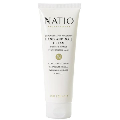Natio Lavender And Rosemary Hand & Nail Cream (75ml)