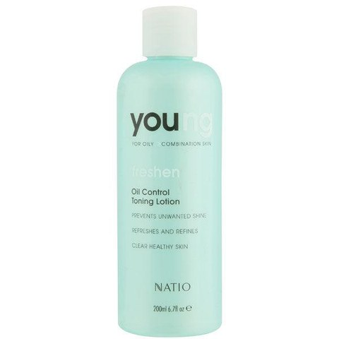 Natio Young talgregulierende Gesichtstonic 200ml