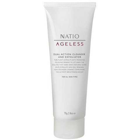 Natio Dual Action Cleanser And Exfoliator (75g)