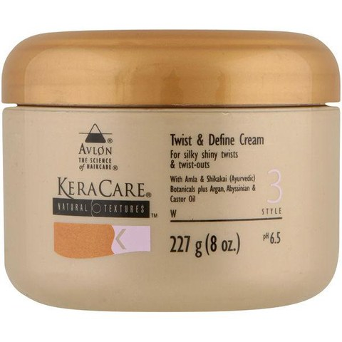 KeraCare Natural Textures Twist & Define Cream (227g) - FREE Delivery