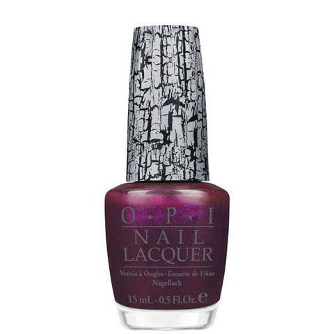 OPI Nicki Minaj Purple Shatter Coat Nail Lacquer (15ml)