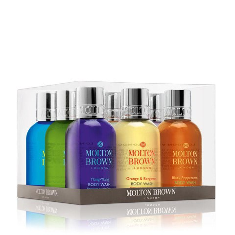 Molton Brown Global Bath & Shower Wash Set (10 x 50ml)
