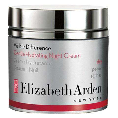 Crema de noche hidratante suave Elizabeth Arden Visible Difference (50ml)