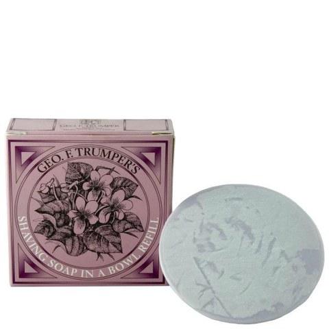 Trumpers Violet Hard Shaving Soap Refill - 80g