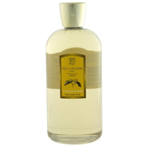 Trumpers Sandalwood Hair & Body Wash - 500ml Travel