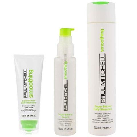 Paul Mitchell Super Skinny Trio- Shampoo, Daily Treatment & Serum