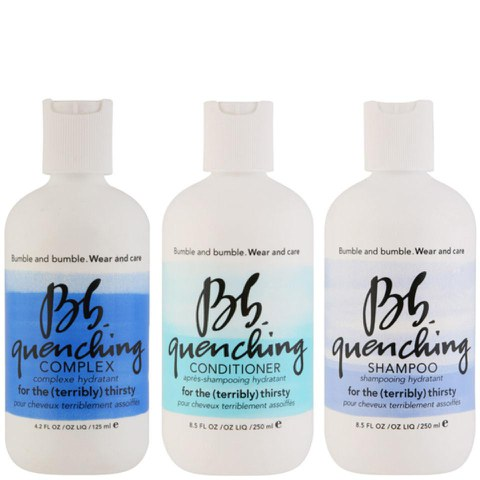 Bb Wear and Care Quenching Trio- Shampoing, Après-shampoing and Complexe hydratant pour cheveux assoiffés