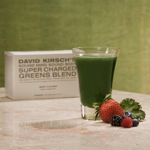 David Kirsch Super Charged Greens Blend
