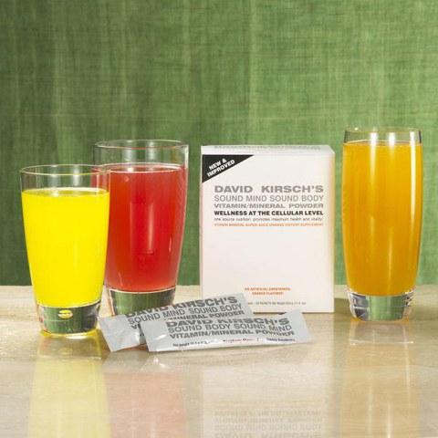 David Kirsch Vitamin/Mineral Powder - Raspberry