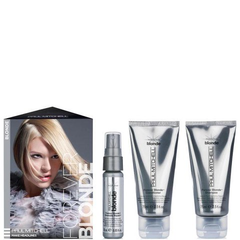 Paul Mitchell Blonde Take Me Home Kit (3 products) (Worth £22.20)