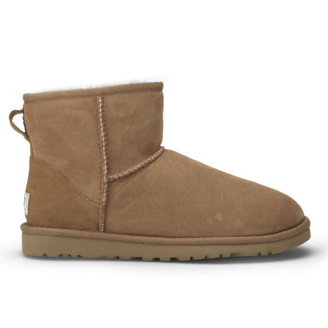 UGG Women's Classic Mini Sheepskin Boots - Chestnut