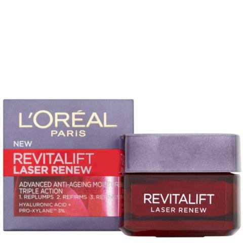 Hydratant anti-âge triple action L'Oréal Paris Dermo Expertise Revitalift Laser Renew (50ml)