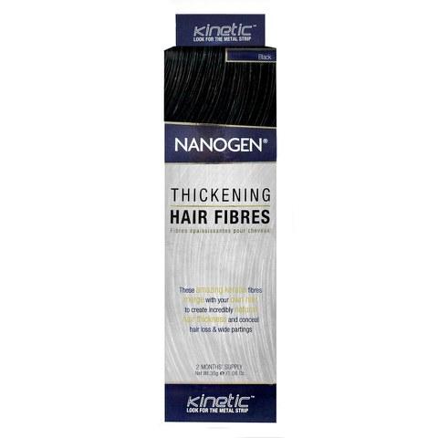 Nanogen Fibres épaississantes pour cheveux - Noir